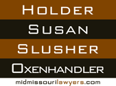 Holder Susan Slusher Oxenhandler